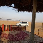 Bedouin stay private desert camp